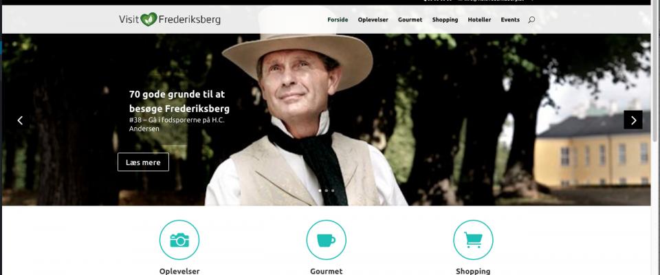 Kom til offentliggørelsen af Frederiksbergs nye turisme-site