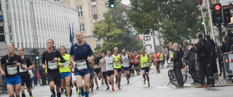 Halvmaraton på Frederiksberg